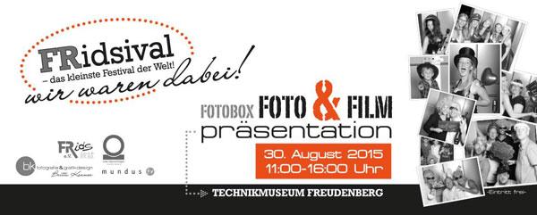Foto- und Filmpräsentation vom FRidsival